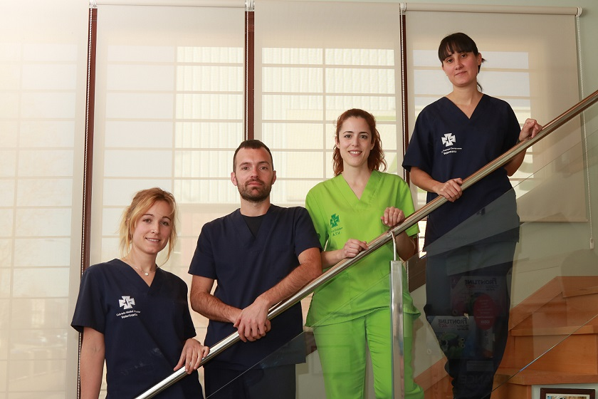 Clínica Veterinaria Petiberia Equipo