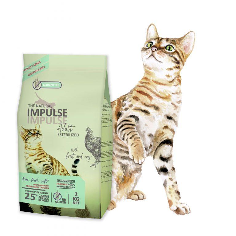 The Natural Impulse Cat Adult Sterilized
