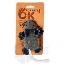 Ratón de Tela con Catnip